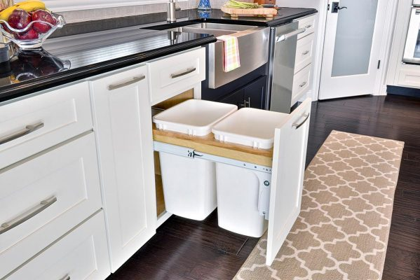 pullout trash cabinet e1477250189621 - What to Look Out for When Buying an Old House