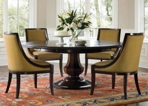 round table 300x215 - Choosing Your Dining Room Table