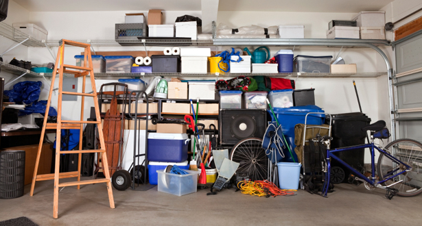 Garage Cleaning - A Year of Housecleaning