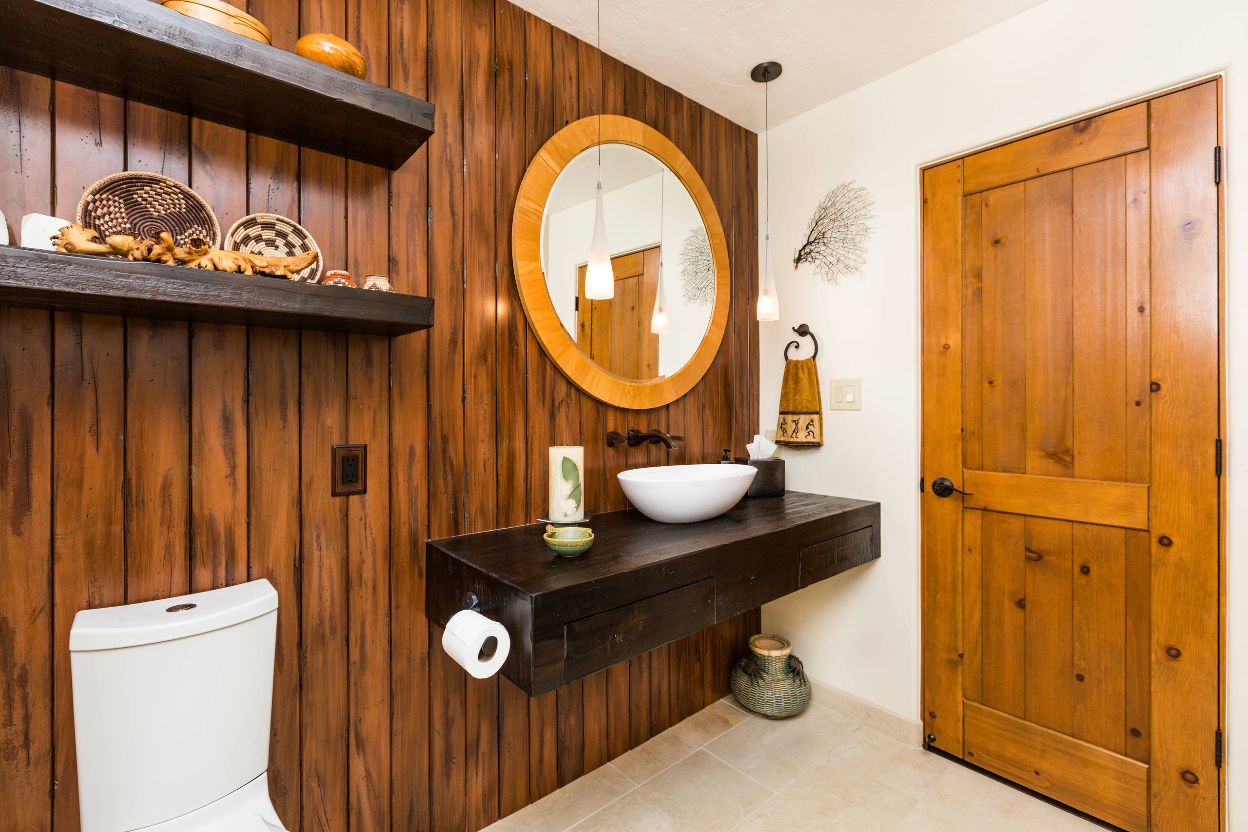 woodbath - DIY – Re-Staining Bathroom Cabinets