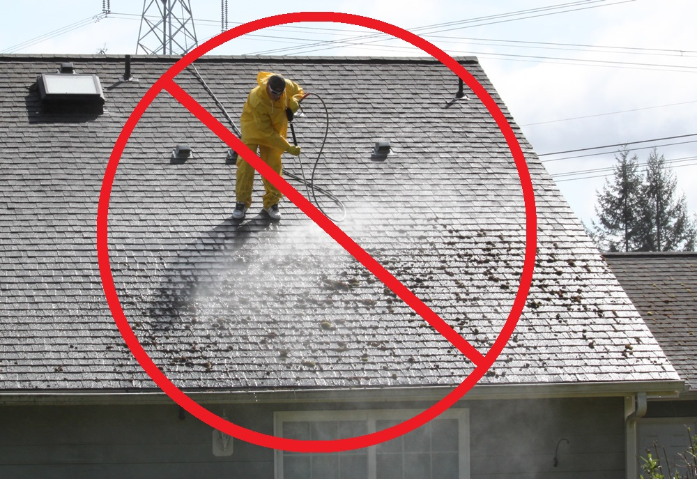 "pressure washing roof - ""Clean Your Roof!"""