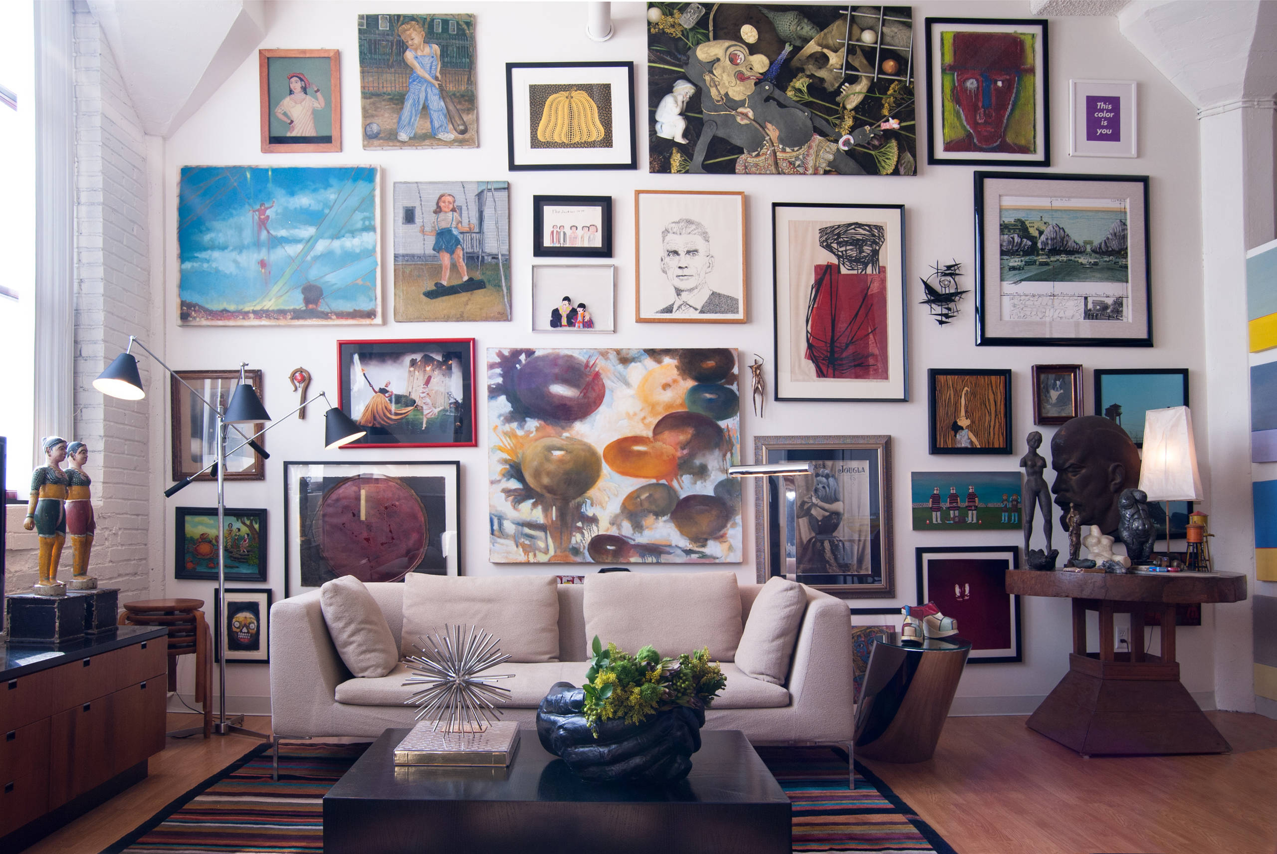 so much art - How's it Hangin'?