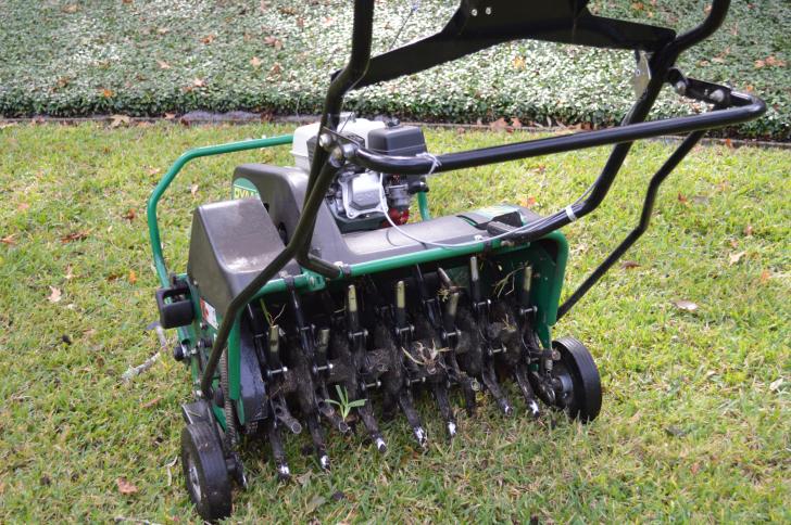 aerating - Lawn Maintenance