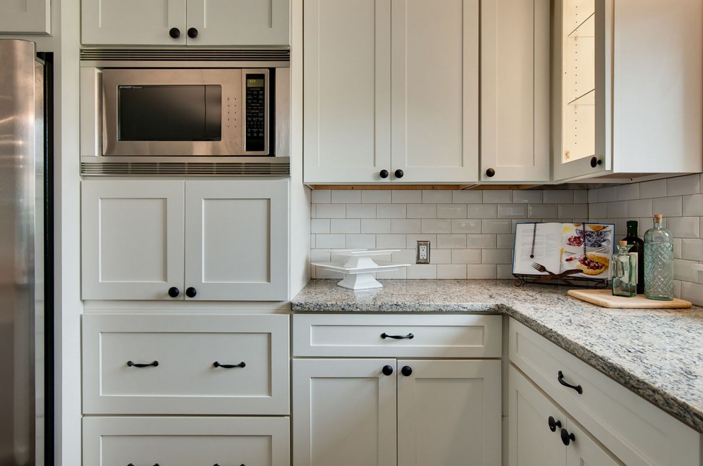 microwave - DIY Tips for Kitchen Cabinet Installs