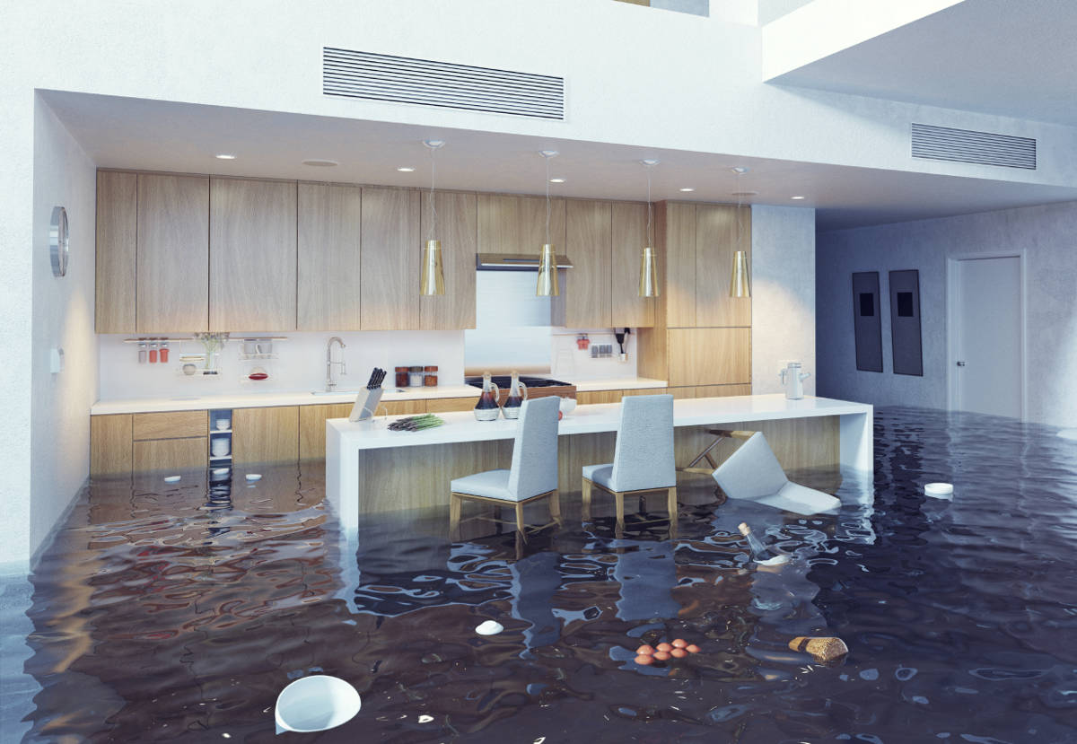 flooded kit - Surviving a Kitchen Flood