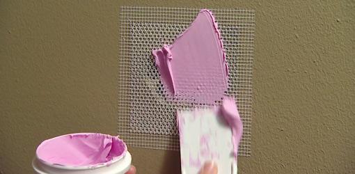 drywall patch2 - Repairing Drywall Tips