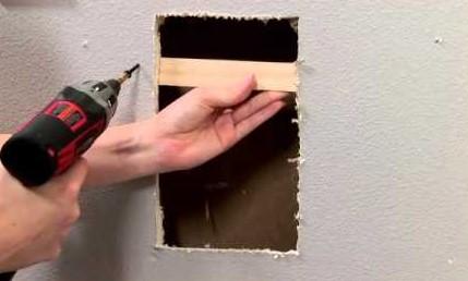 large hole - Repairing Drywall Tips