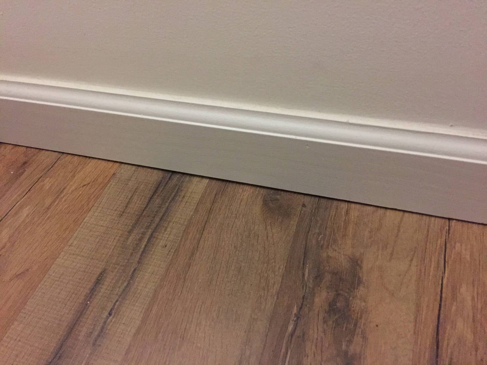 baseboard gaps - Home Improvement DIY Tips for Quarter Round Molding