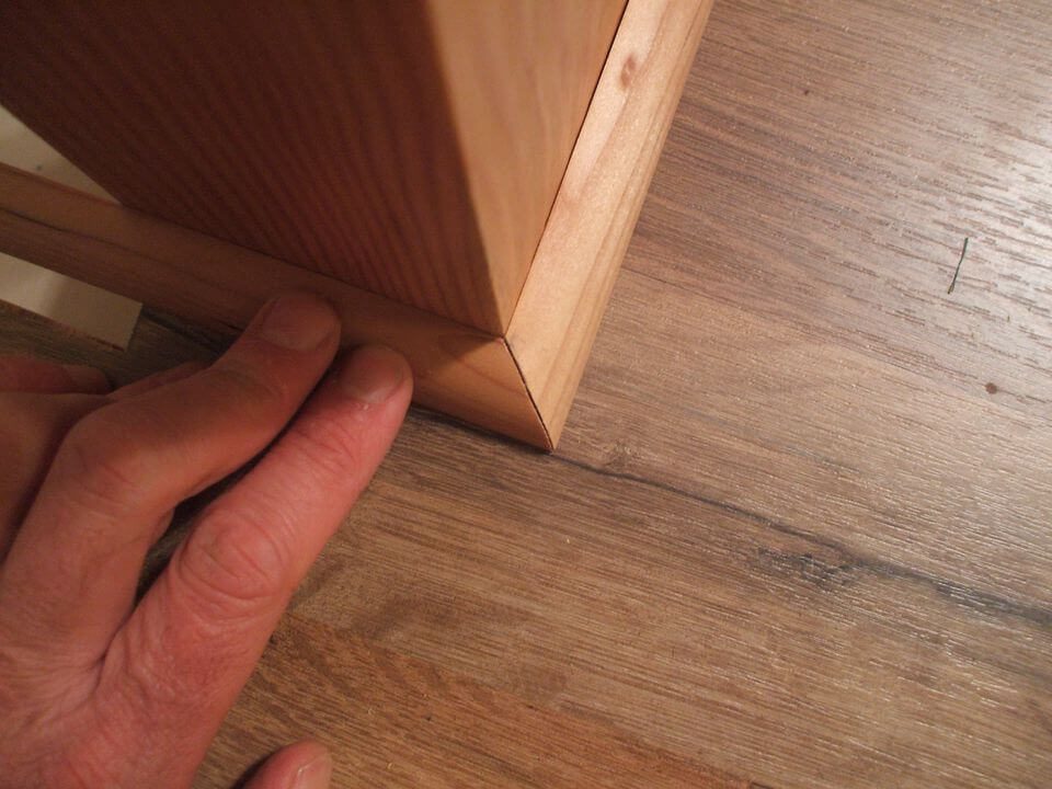 fit molding angle - Home Improvement DIY Tips for Quarter Round Molding