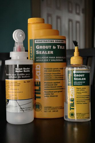 grout tile sealer - Sealing that Grout! A DIY Project