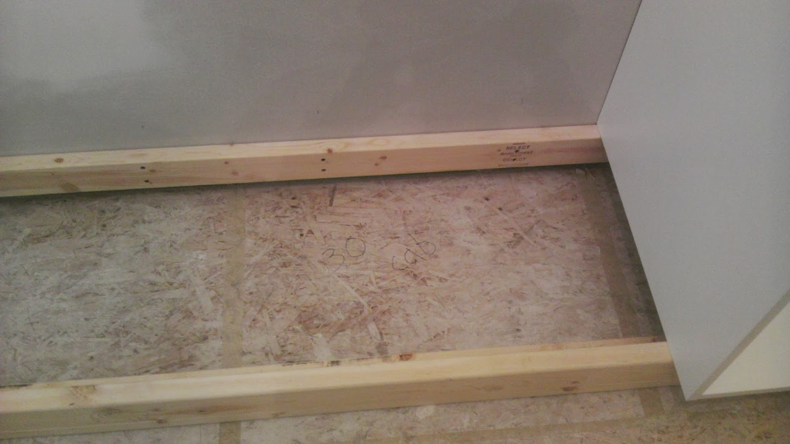 install base frame for rta cabinets - Making Loft & Bunk Bed Storage with RTA Cabinets Part 1