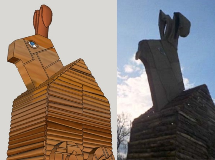 monty python trojan easter bunny - DIY Ideas: Make Your Own Ten Ton Trojan Easter Bunny