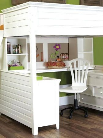 white-bunk-bed-with-desk-and-rta-cabinets