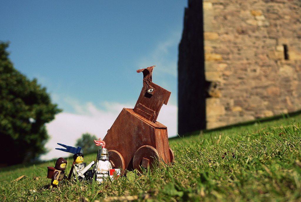 Diy Ideas Make Your Own Ten Ton Trojan Easter Bunny See It Do It