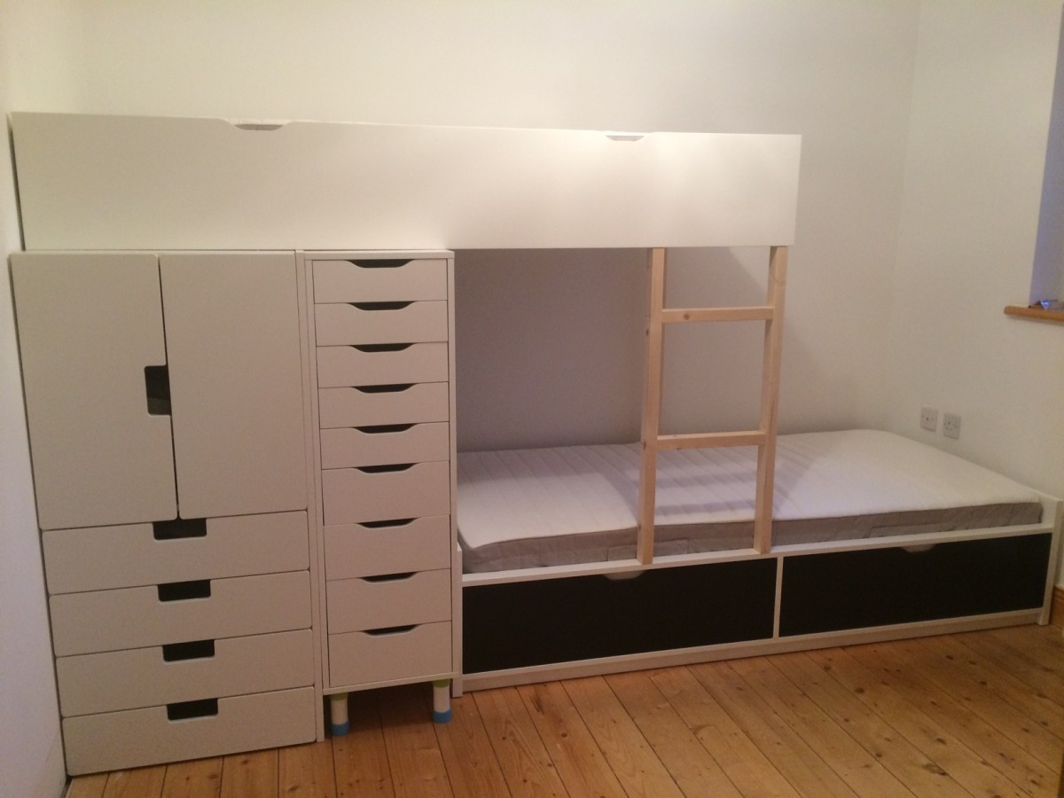 Making Loft & Bunk Bed Storage with RTA Cabinets Part 3   See It Do It